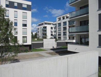 wohnpark stadtgarten b blingen 2012 wohnungsbau. Black Bedroom Furniture Sets. Home Design Ideas